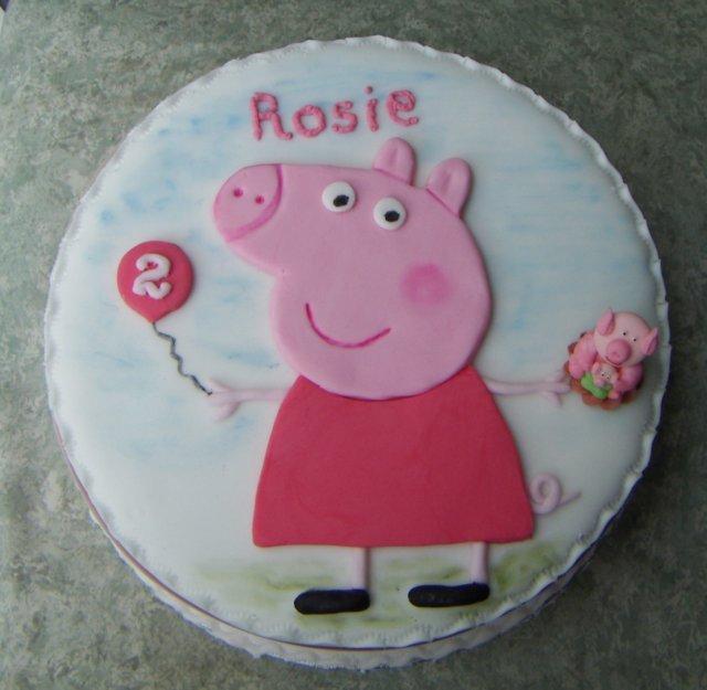 Easy Peppa Pig Cake Pops