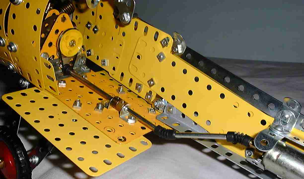 Building A Meccano Model Of The Sopwith Camel