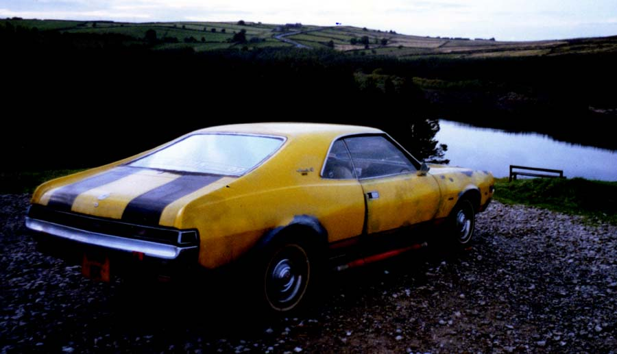 Yellow Javelin Yellow Javelin Car